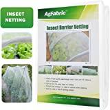 Agfabric 标准昆虫筛网和花园网 防虫、鸟和松鼠 - 网布,白色 10'x20' 4322436157