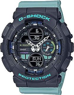 Casio 卡西欧 G-Shock S 系列蓝色树脂表带手表 GMAS140-2A