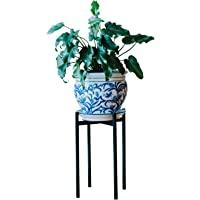 时尚植物架(不含锅) – 室内、室外花盆支架 – 家用花盆架、花园、露台 – 盆子和植物的夹具 – 防锈盆栽植物架…
