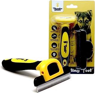 thunderpaws *专业 de-shedding 工具和宠物美发梳, d-shedz 适用于犬种 OF 狗,猫和短裤 or 长*,小号,中号,大号