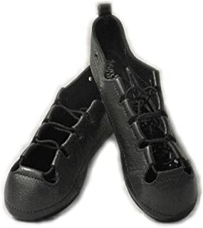 Irish Dance Pumps 软鞋,全手工真皮鞋面和麂皮分离鞋底,减震内底,免费纯棉鞋包 -