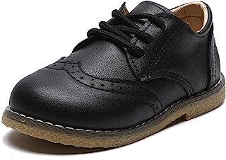 COSANKIM 女童校服礼服鞋 防滑牛津 Mary Jane 平底鞋 适合女童(学步儿童/幼童)
