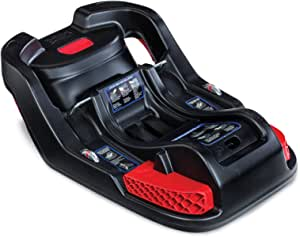 Britax 婴儿汽车*座椅底座带防反弹杆和 SafeCenter 锁扣安装 - 兼容所有 Britax B-Safe 35 黑色