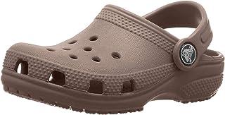 Crocs 中性 Classicclogk 儿童木底鞋