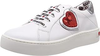 Love Moschino爱莫斯奇诺Scarpad.cassetta35女士体操鞋,黑色