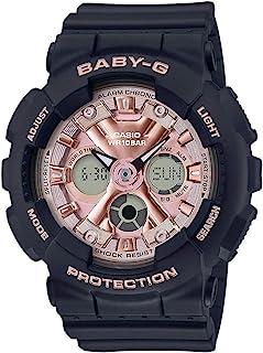Casio 卡西欧 女式日本石英手表树脂表带,蓝色,25(型号:BA-130-1A4ER)