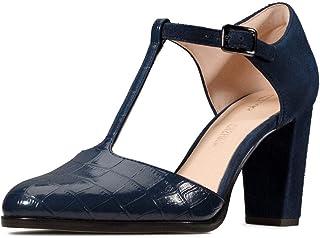 Clarks Kaylin85 女式T型高跟鞋