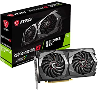 MSI 微星 GeForce GTX 1650 128-Bit HDMI / DP 4GB GDRR6 HDCP 支持 DirectX 12 双风扇 VR Ready OC显卡 (GTX 1650 D6 Gaming X)