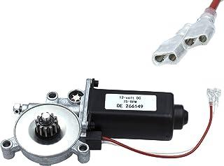 Woopeey 266149 RV 房车电源遮阳篷电机通用电机适合 Solera Power Awnings 12 伏直流和 75 转/转/双接头