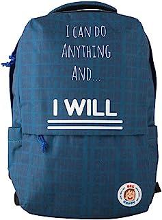 带励志和积极信息的儿童背包