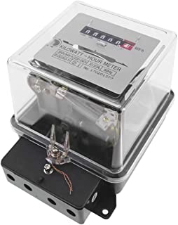 BeMatik – 电流计数器,功率计,单相10A 230V 50Hz 30A *大透明塑料