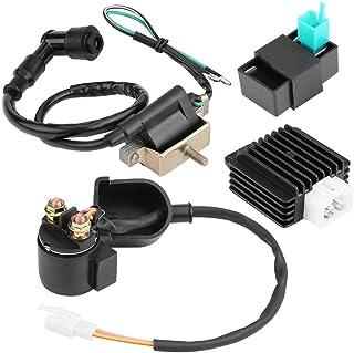 Enrilior 调节器整流器起动继电器点火线圈 CDI 盒兼容 50cc 70cc 90 110cc ATV Quad