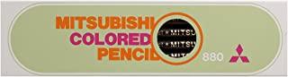 三菱铅笔彩色铅笔880纯色黑1打 K880. 24