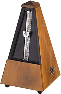 Wittner 803 Wood Case Metronome without Bell, Gloss Walnut
