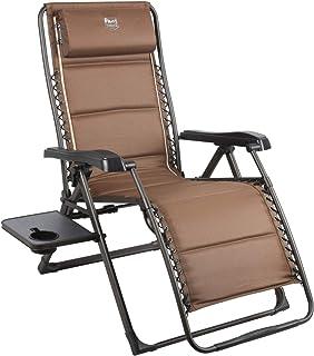 Timber Ridge Banyon 零重力 350 磅 承重 斜倚折叠庭院户外休闲椅