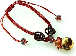 王廷珠宝 生肖护佑黄琉璃百宝瓶手链