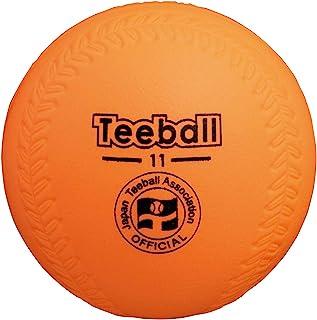 NAGASENKO 日本茶球协会公认球 JTAKENCO茶球橙色11英寸(低反弹)1个 JTA-KT11OR
