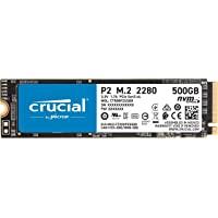 Crucial P2 CT500P2SSD8 500 GB 内部固态硬盘(3D NAND,NVMe,PCIe,M.2)
