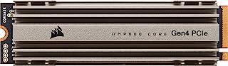 Corsair 海盗船 MP600 CORE 2TB M.2 NVMe PCIe x4 Gen4 SSD(高达 4,950MB/秒连续读取和 3,700MB/秒连续写入速度,高速接口,3D QLC NAND,内置散热器)铝