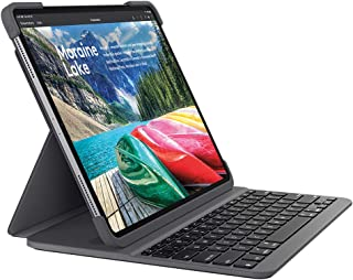 Logicool 罗技 iPad Pro 11英寸兼容键盘 iK1173 黑色 蓝牙键盘集成保护壳 iPad Pro 11英寸兼容 黑色 SLIM FOLIO PRO