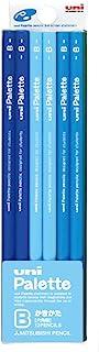 Uni Palette 紙箱 鉛筆 藍色 B パステルブルー