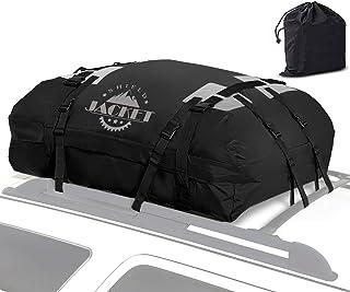 SHIELD JACKET 防水屋顶顶货物行李旅行包(15 立方英尺) - 车顶装货运载载载车,适用于汽车、厢式货车和 SUV - 非常适合旅行或越野 - 双层乙烯基结构,易于使用