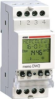 Vemer ve341400数码时间开关 Memo DW 带 IR, 浅灰色