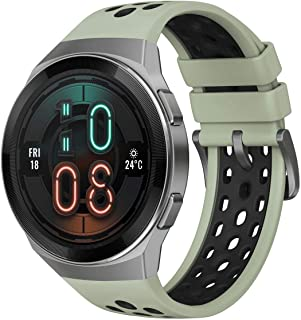 Huawei 华为 GT 2e 智能手表,1.39 英寸 AMOLED 高清触摸屏,2 周电池寿命,GPS 和 GLONASS,自动检测 6 种运动模式,15 项运动追踪,SpO2,心率监测,薄荷绿