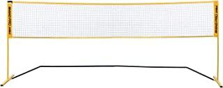 Champion Sports 便携式网:球拍运动、网球、羽毛球和其他游戏可调节网 - 多种球场宽度