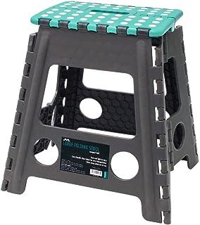 JVL 大号折叠梯凳,灰色/蓝*