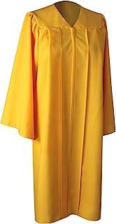 GraduationForYou 中性成人 Choir Robes 毕业哑光礼服