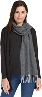 Fishers Finery 女式 * 纯羊绒冬季围巾;2 层*