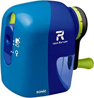 Sonic 铅笔刀 Toga Return 手动铅笔刀 蓝色 EK-7022-B