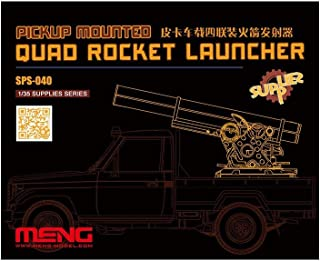 Meng 1/35 比例皮卡安装四火箭发射器 - 塑料模型搭建套件 # SPS-040