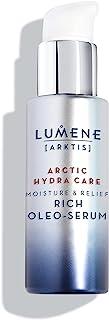 Lumene Arctic Hydra Care [Arktis] 保湿舒缓丰盈橄榄精华,1 液体盎司,无香料油精华,适用于干燥、脱水和敏感肌肤