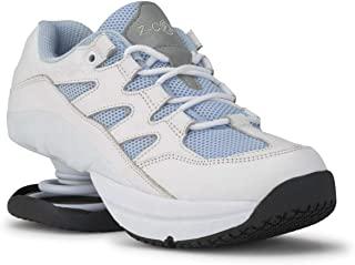Z-CoiL 缓解*鞋履女式自由防滑天蓝色皮革网球鞋