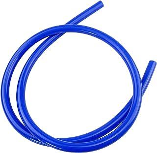 5 英尺长通用内径高性能硅胶真空管软管线(1/8 英寸 (3MM),蓝色)