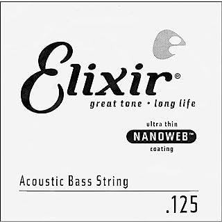 Elixir® 弦 80/20 青铜原声低音单弦,带 NANOWEB® 涂层(.125)