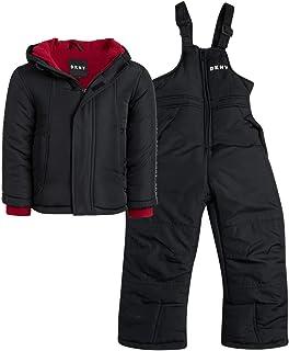 DKNY 男童 2 件套滑雪夹克和隔热防雪服套装(婴儿/幼儿)