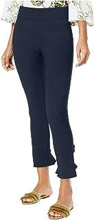 INC International Concepts 女式褶边下摆九分紧身裤