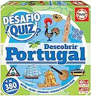 Educa 18220 Desafio Quiz Descobrir 葡萄牙,带山峰徽标,+ 6个夹克