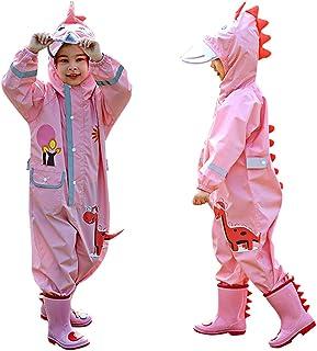 Flantor 儿童连体雨衣幼儿雨衣防水卡通夹克外套雨衣