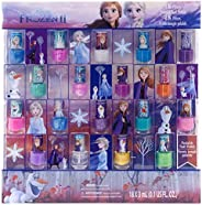 Townley Girl Disney 冰雪奇緣**油套裝,適合女孩,閃光和不透明色,適合 3 歲以上兒童 - 18 件裝