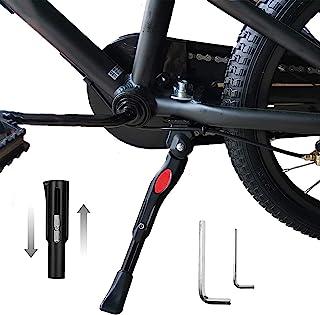 儿童自行车支架,18 英寸(约 45.7 厘米)自行车支架可调节*安装自行车支架自行车支架,适用于 18 20 22 英寸(约 45.7 厘米)山地自行车/公路自行车/成人自行车/运动自行车/儿童自行车