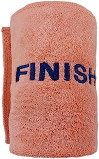 12 英寸 x 39 英寸(约 30.5 厘米 x 99.1 厘米)马拉松整理毛巾超柔软超细纤维跑步训练健身房健身锻炼瑜伽毛巾尺码 L (橙色)