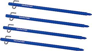 帐篷工厂(TENT FACTORY) 铝合金涂层30 4支套装 TF-ASP-30 ABL