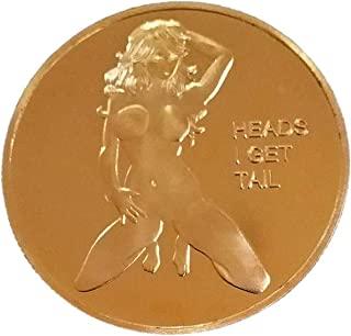头部或尾巴挑战硬币纪念品礼品成人玩具性感女士纪念礼物丈夫男士男友生日
