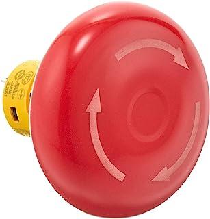 IDEC φ16 X6系列 紧急停止用按下按钮开关(一体型) 大形按钮 2b 箭头型 焊接端子形 AB6E-4BV02PRM