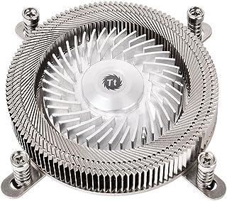 Thermaltake CL-P051-AL06SL-A 发动机 17/1U 低剖面 CPU 冷却器/金属风扇 - 黑色