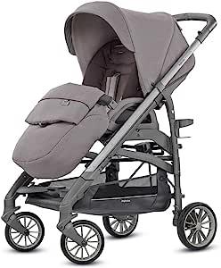 Inglesina AG37K6SDG Trilogy 婴儿推车,灰色